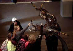 Scrap-metal sculptor takes on form and motion at Western Art Show