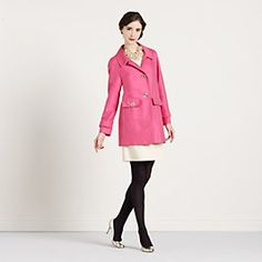 Who doesn't want a pink coat?