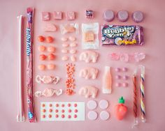 Pink candy by Emily Blincoe.