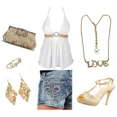 Outfit, can't wait to buy these shorts!!! after baby comes