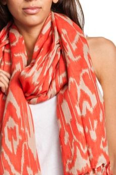 scarves:love the color, perfect for bringing outfit from drab to hi...
