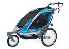 For the adventurous family that might hike, bike or cross-country ski. The Thule Chariot Chinook 2 Stroller #REIGifts