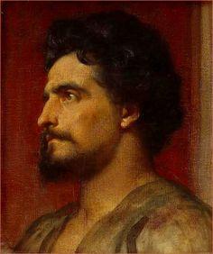 """Samson"", by Lord Frederick Leighton."