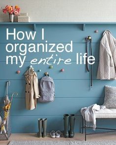 Modern Parents Messy Kids: Organize your life Do It Yourself Baby, Home Decoracion, Casa Clean, Ideas Para Organizar, Organize Your Life, Organize Kids, Home And Deco, Home Hacks, My New Room