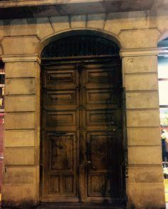 Spain, Barcelona, door, Kapı, history