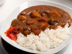Beef curry (Japanese style) from scratch - aka Curry Rice by maki, via Flickr