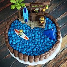 Minion Cake - Not Starving Yet