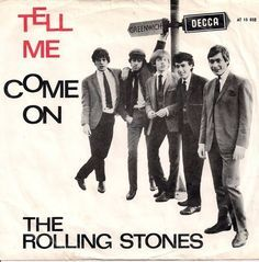 "The Rolling Stones ""Tell Me"" single Cd Cover Art, Album Cover Design, Lp Cover, Vinyl Cover, Cover Band, Vinyl Cd, Vinyl Records, Lps, Beatles"