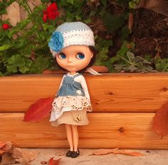 Little Urban Princess dress hat and top for by RainbowDaisies