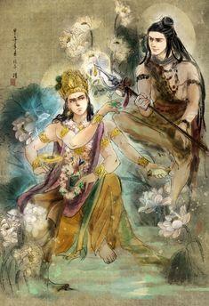 Vishnu&Shiva (Devo Ke DevMahadev)