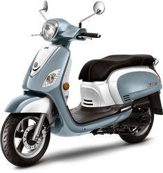 Le scooter Sym Fiddle en version 125cm3