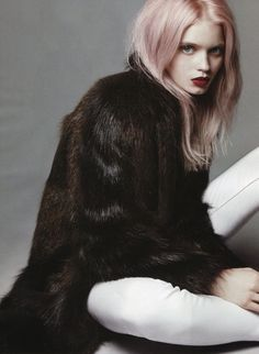 Abbey Lee Kershaw for Vogue China