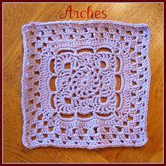 Arches Granny Square - Free Pattern