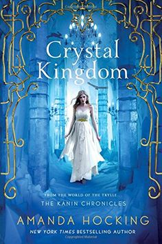 Check out this exclusive for Wattpad readers – an excerpt from Crystal Kingdom, the final book in the Kanin Chronicles by New York Times Bestselling author Ama. I Love Books, Good Books, Books To Read, Big Books, High Fantasy, Fantasy Romance, Amanda Hocking, Crystal Kingdom, Beautiful Book Covers