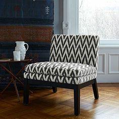 Slipper Chair - Prints #westelm