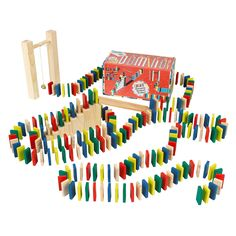 Ridley's Domino Rally design by Wild & Wolf Messy Room, Wild Wolf, Educational Toys For Kids, Gadget Gifts, Unusual Gifts, Quirky Gifts, Games For Kids, Party Supplies, Christmas Gifts