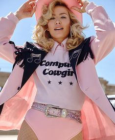 """Shot by Mark Hunter, the """"American Honey"""" collection from LA cool girl knitwear brand Wildfox is giving off some serious Old Western vibes for summer. Fantasias Country, Vaquera Sexy, Look Fashion, Fashion Outfits, Streetwear, Urban Cowboy, Cowgirl Outfits, Cowgirl Hats, Cowgirl Chic"""