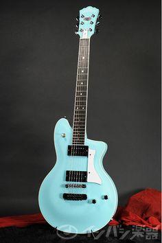 Washburn Custom Shop P4 Reissue Tiffany Blue