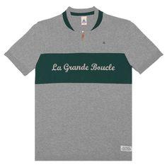 Polo tricot La Grande Boucle - le coq sportif - e-shop lecoqsportif