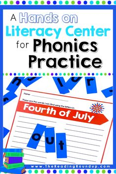 Practice Making Words to Improve Phonics Skills - The Reading Roundup Reading Games For Kids, Reading Groups, Guided Reading, Reading Resources, Preschool Sight Words, Spelling Activities, Vocabulary Activities, The Words, Word Work Stations