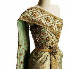 Thai Chakri designed by Balmain for Queen Sirikit of Thailand,...