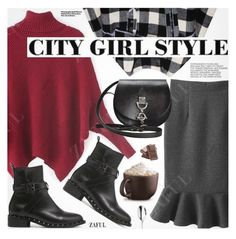 """""""City Girl Style"""" by pokadoll ❤ liked on Polyvore featuring Hedi Slimane, Robert Welch, polyvoreeditorial and polyvoreset"""