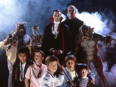 The Monster Squad, 1987: A group of classic Monster flick loving kids inadvertently unleash Dracula, The Mummy, Frankenstein, The Wolfman and others.