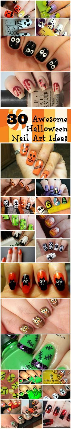 30 Awesome Halloween Nail Art Ideas | Young Craze