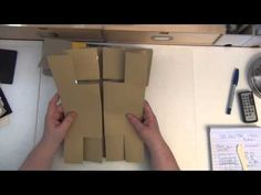 TUTORIAL FOR A BIG TRI SHUTTER CARD ALBUM WITH A PROJECT LIFE TWIST - YouTube