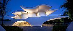 Las Terrazas by Wallace E. Cunningham in Monterrey, Mexico #architecture #modernvilla #modernhome #mexico #terrace