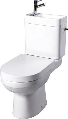 Bien plus qu'un produit, c'est une innovation ! Ce wc 2 en 1 avec lave-mains intégré vous fera non seulement gagner de la place, mais réduira également de beaucoup vos factures d'eau. À découvrir sans plus attendre ! #planetebain #wc #toilette #innovation #salledebain