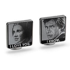Cufflinks for the Han in your life - love these! http://rstyle.me/n/tt3b9nyg6