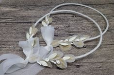 White wedding crown, greek Goddess olive leaves imitation, bride bridal wedding accessories, wife to be wedding day crown. Shine bright on your wedding day with this high quality handmade wedding crown. Its ornaments are imitations of olive leaves made out of paper and porcelain. Make this day all Olive Wedding, Greek Wedding, Wedding Crowns, Orthodox Wedding, Christening Favors, Wedding Favours, Handmade Wedding, On Your Wedding Day, Wedding Accessories