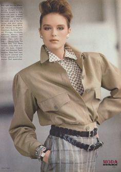 Go For The Best from……………Vogue January 1983