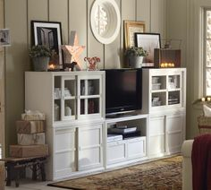 Winslow Media Suite with Wood Doors & Drawers