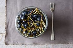 Pickled Blueberries with Rosemary Sprigs Recipe on Food52 recipe on Food52