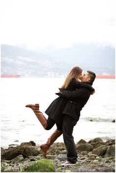 Spanish Banks Engagement Session in Vancouver