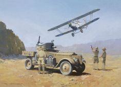 Hawker Hart and Rolls Royce Armoured Car by Roger H. Middlebrook - The RAF Regiment and its associated armoured cars have taken part in a great number of the campaigns and wars in which the arm has been asked to fight. Formed at the end of WWI from the RNAS Armoured Car Squadrons, the Regiment was to have a similar role of picking up downed pilots, protecting aircraft, airfields and installations as well as generally supporting the RAF squadrons. Here one of the services most iconic cars…