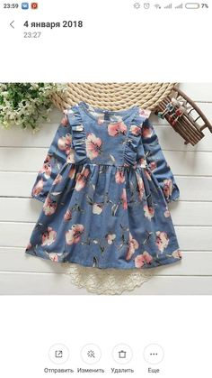 Little Dresses, Little Girl Dresses, Cute Dresses, Little Girl Fashion, Toddler Fashion, Kids Fashion, Toddler Dress, Baby Dress, Cute Baby Clothes