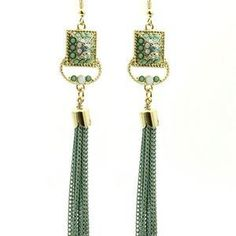 glam earrings perfect for a fancy evening out $11.50