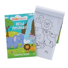 An 8 page colouring book featuring a variety of fun animal pictures. 72 per unit 5 x inches Exclusive Coloring Sheets, Coloring Books, 1000 Books Before Kindergarten, M Color, Animal Pictures, Fun, Animals, Vintage Coloring Books, Colouring Sheets