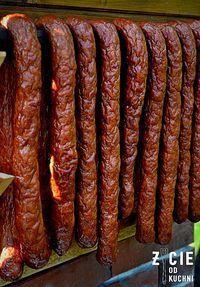 wedzona kielbasa domowa Homemade Sausage Recipes, Smoked Meat Recipes, Grilling Recipes, Pork Recipes, Home Made Sausage, Bariatric Eating, Kielbasa, Food Humor, My Favorite Food