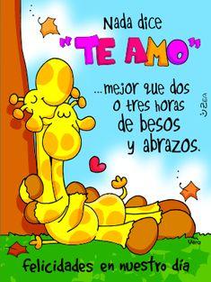 imagenes-animadas-de-amor-te-quiero-1.gif (300×399) True Love, Winnie The Pooh, Disney Characters, Happy, Quotes, Cards, Inspiration, Bella, Chili