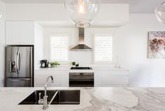 Sandringham Renovation - Kitchen :: Designed by Eat Bathe Live Table, Renovations, Bath, Kitchen Renovation, Interior Renovation, Furniture, Interior, Kitchen, Home Decor