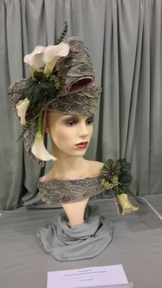Created for the Shrewsbury Flower Show Winning a 1st in the Hat category