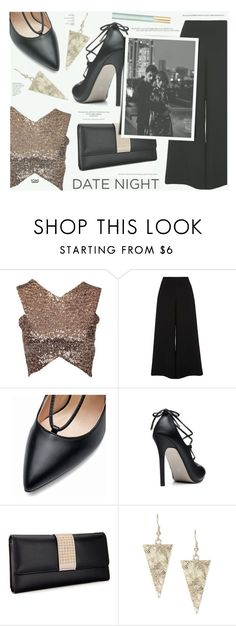 """Hot Date Night Style- Yoins"" by katarina-blagojevic ❤ liked on Polyvore featuring River Island, Marc Jacobs, yoins, yoinscollection and loveyoins"