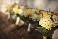 Country Chic Wedding Bouquets