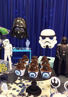 Star Wars: festa infantil decorada com os personagens do filme
