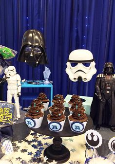 Star Wars: festa infantil decorada com os personagens do filme