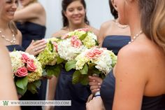 Flowers by Pat's Floral Designs; image by Aaron Watson Photography #wedding
